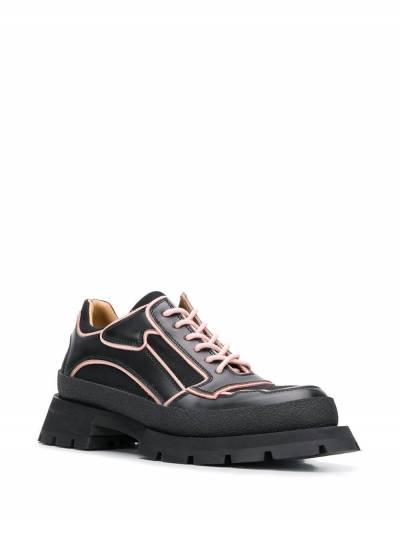 Jil Sander - туфли на массивной подошве 3596A966339555056900 - 2