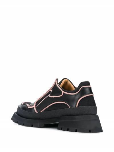 Jil Sander - туфли на массивной подошве 3596A966339555056900 - 3