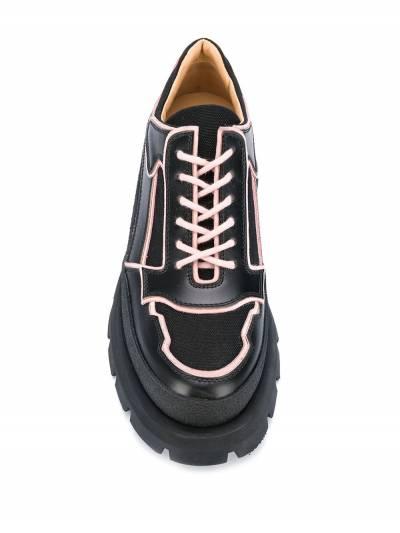 Jil Sander - туфли на массивной подошве 3596A966339555056900 - 4