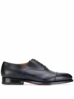 Santoni туфли на шнуровке MCCO14709JC6IRY