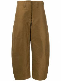 Lemaire - укороченные брюки с завышенной талией 3PA059LF385955393600