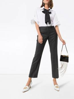 Alexander McQueen - брюки с заниженной талией 350QJAAN959956960000