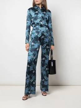 Altuzarra - брюки Bani с цветочным принтом 96389556893300000000