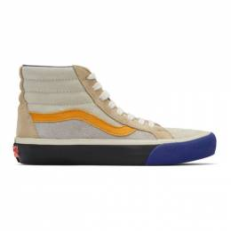 Vans Blue and Orange Reissue VI Sk8-Hi Sneakers 192739M23602615GB