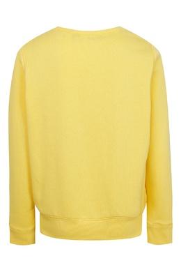 Желтый свитшот с логотипом Ralph Lauren Kids 1252151621