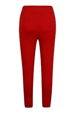 Красно-коричневые брюки-джоггеры Ralph Lauren Kids 1252151762