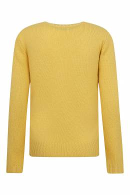 Желтый свитер с логотипом Ralph Lauren Kids 1252151914