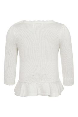 Белый свитер с рисунком на груди Ralph Lauren Kids 1252151926
