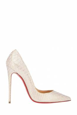 Туфли из кожи питона So Kate 120 Christian Louboutin 10657099
