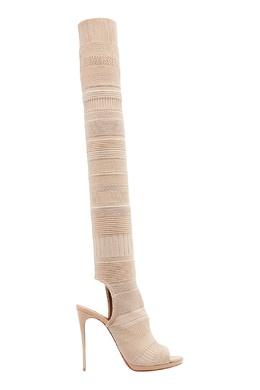 Сапоги-чулки из джерси Cheminetta 120 Christian Louboutin 10682924