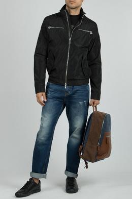 Черная куртка с серебристой молнией Iceberg 1214152066
