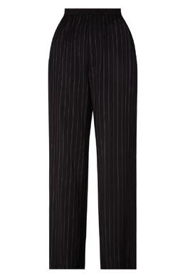 Черные брюки в полоску Balenciaga 397151337
