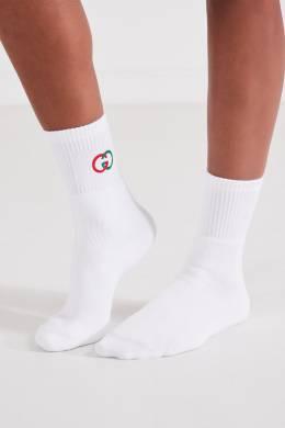 Носки с логотипом Gucci 470151664