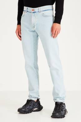 Светло-голубые джинсы с отделкой Heron Preston 2771151693
