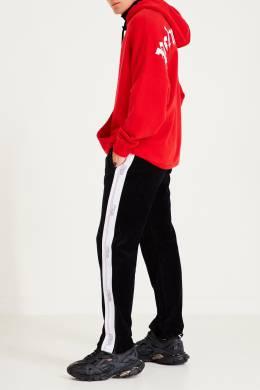 Черные брюки-джоггеры с лампасами Heron Preston 2771151694