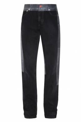 Черные джинсы с контрастной отделкой Heron Preston 2771151695