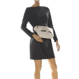 Gucci White Leather Belt Bag 223946