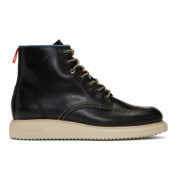 Ps by Paul Smith Black Caplan Boots M2S-CAP04-ABEC