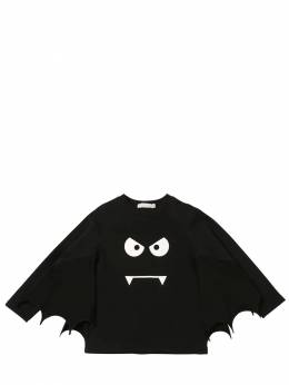 Футболка Из Хлопкового Джерси С Принтом Stella McCartney Kids 70I6SJ036-MTA3Mw2