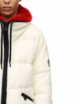 Polar Tech Recycled Faux Fur Down Jacket Moncler Grenoble 70I4XY023-MDRB0