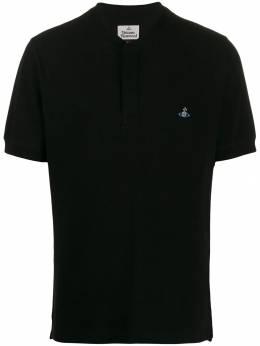 Vivienne Westwood рубашка-поло с логотипом S25GL0023S23142