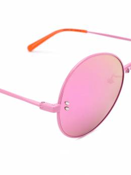 Stella McCartney Kids солнцезащитные очки в круглой оправе 583056S0007