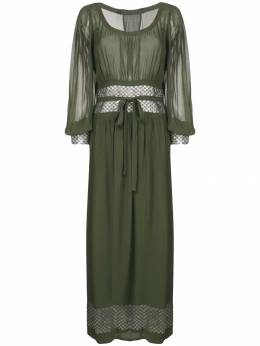 A.N.G.E.L.O. Vintage Cult - платье макси 1970-х годов E3569355389900000000