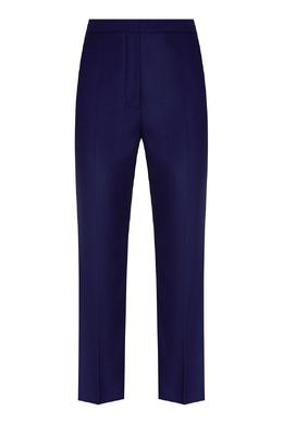 Синие брюки из шерсти Stella McCartney 193152724