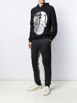 Philipp Plein - спортивные брюки с контрастными вставками CMJT9359PJO660N95655