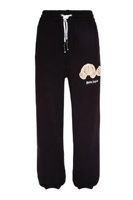 Черные брюки с отделкой Palm Angels 1864152599
