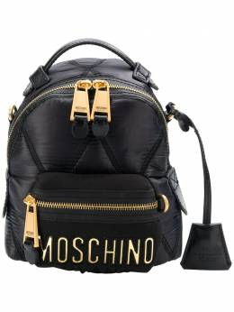 Moschino - small quilted backpack 66806393909835000000