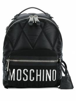 Moschino - quilted logo backpack 65806393905905000000