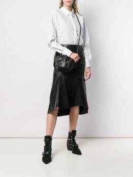 Alexander McQueen - маленькая сумка-ведро 568BRUJI938863330000
