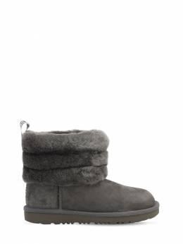 Fluff Mini Shearling Boots Ugg Australia 70IWXH034-Q0hBUkNPQUw1