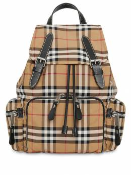 Burberry - рюкзак среднего размера в клетку 63059359336900000000