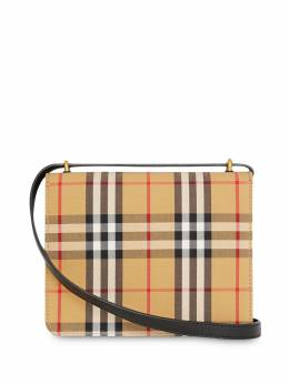 Burberry - small vintage check D-ring bag 66599093593000000000