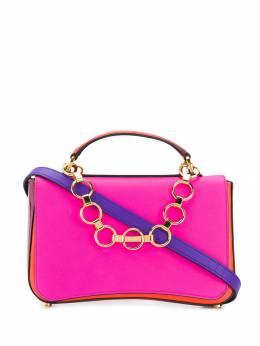Emilio Pucci - сумка в стиле колор-блок с цепочкой C659R665933695530000