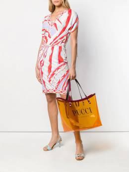 Emilio Pucci - сумка-тоут с логотипом C539R686933695350000