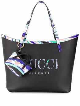 Emilio Pucci - сумка-тоут с принтом C569R665933695660000