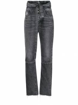 Unravel Project - high-waisted denim jeans B609F99DEN6609595698