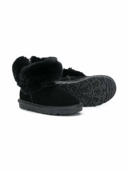 Monnalisa - ботинки с искусственным мехом 69653939556309500000