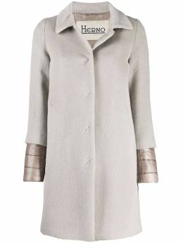 Herno - layered sleeves coat 395D3306395599563000