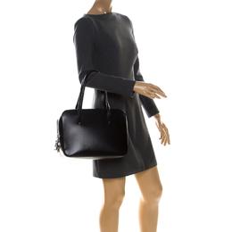 Cartier Black Leather Doctor Bag