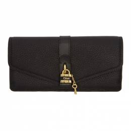 Chloe Black Aby Long Continental Wallet 192338F04003601GB