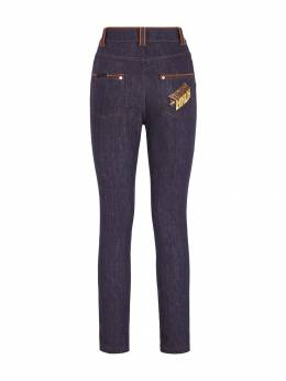 Fendi - high-rise slim-fit jeans 633A8EY9559896600000