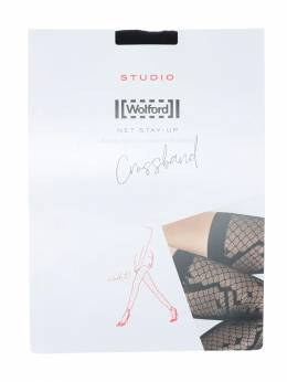 Crossband Net Stay-up Stockings Wolford 70IVOP007-NzAwNQ2