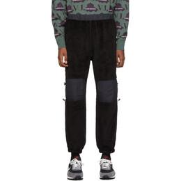 Undercover Black Fleece Lounge Pants 192414M19000101GB
