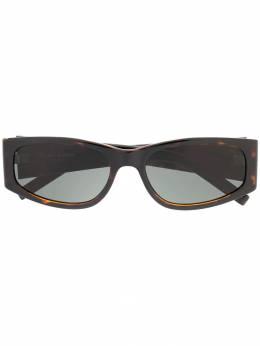 Saint Laurent Eyewear солнцезащитные очки SL 329 с логотипом 588025Y9901