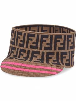 Fendi - Zucca monogram wide band cap 608A5NV9559885000000
