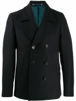 Ps by Paul Smith фактурное двубортное пальто M2R597TC2008949